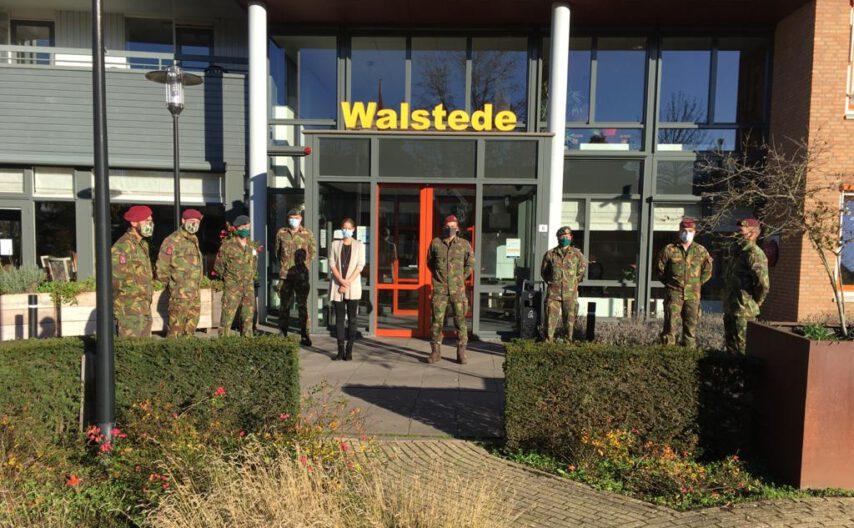 Echte hulptroepen op Walstede
