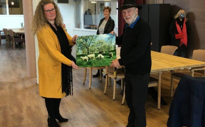 Expositie George Burggraaff in Ravestein